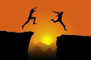 Leap chasm